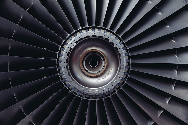 turbína motoru