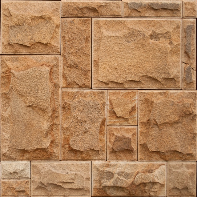 Betonová deska v dekoru pískovce