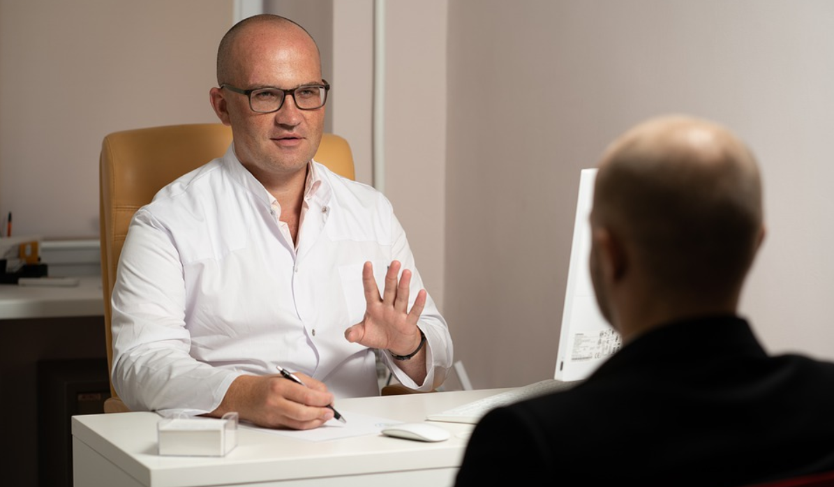 psycholog a pacient
